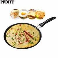 PFDIYF 30 CM Frying Pan Non Stick Pans No Oil smoke Melaleuca Cake Pancake Maker Frying Pan Bakeware Multifunction Cooking Tool
