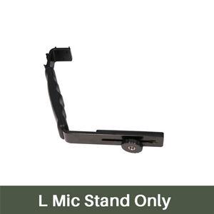 Image 3 - Ulanzi L Mic Stand Met 2 Hot Shoe voor iPhone Zhiyun Glad Q Stabilizer/Feiyu Gimbal/Boya By MM1 microfoon/Video Light Stand