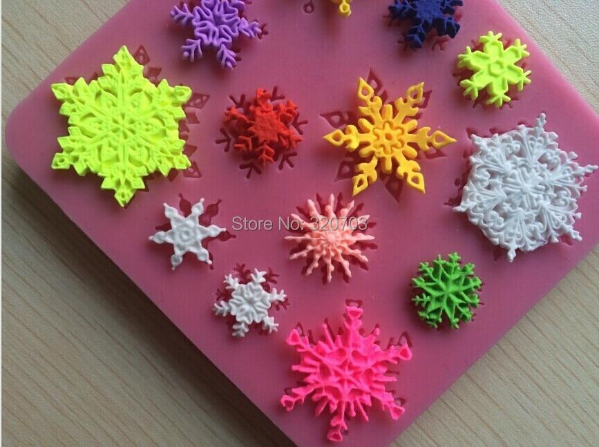 1PCS Snow Flowers Shape...