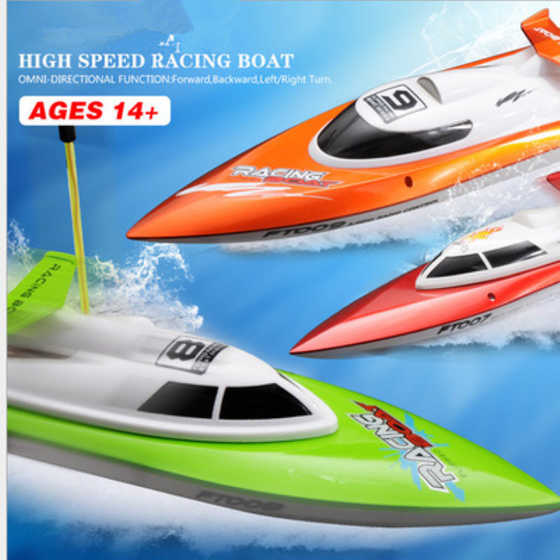 14km/h High Speed Remote Control RC Boat FT008  High Simulation speed boats Toy Child Gift RC Boats Model speedboat rc toy model14km/h High Speed Remote Control RC Boat FT008  High Simulation speed boats Toy Child Gift RC Boats Model speedboat rc toy model