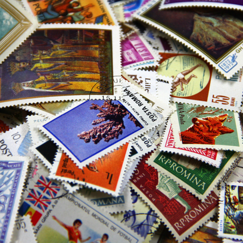 100 PCS/Lot No Repeat Romania Postage Stamps Collections From Romania With Post Marks Stamp Postal All Used, Collection Gifts