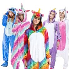 AFEENYRK licorne femmes doux confortable ensemble de pyjamas vêtements de nuit vêtements de nuit pyjamas unisexe Homewear pour fille/garçons/vêtements de nuit adulte