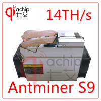 Brand New AntMiner S9 14T Bitcoin Miner With Power Supply Asic Mine 16nm Btc Miner Bitcoin