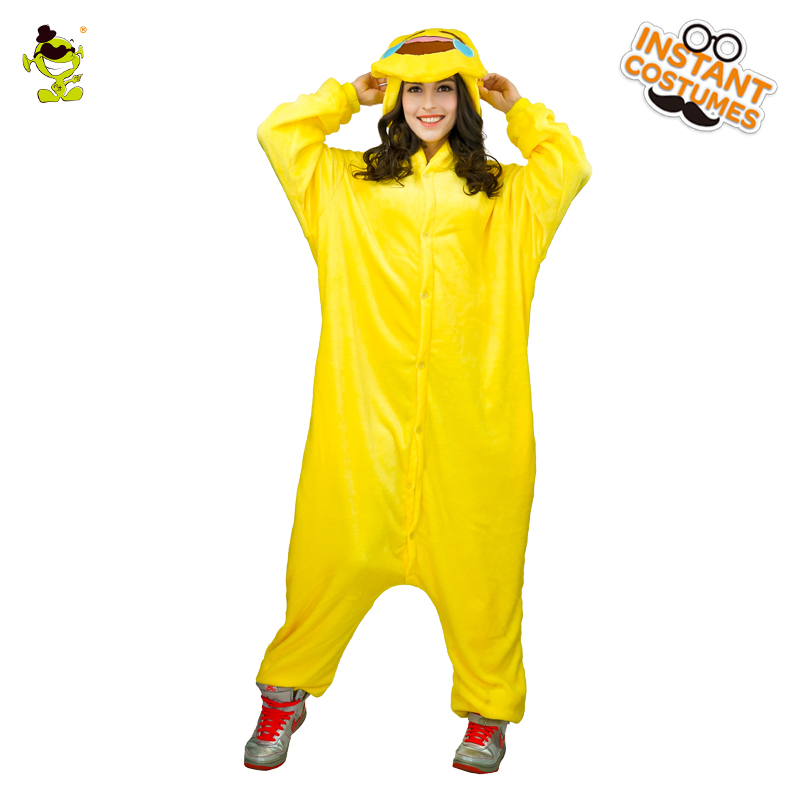 High Quality Women Laugh Cry Emoticon Pajamas Costumes Carnival Party Adult Hooded Funny Emoji Sleepwear