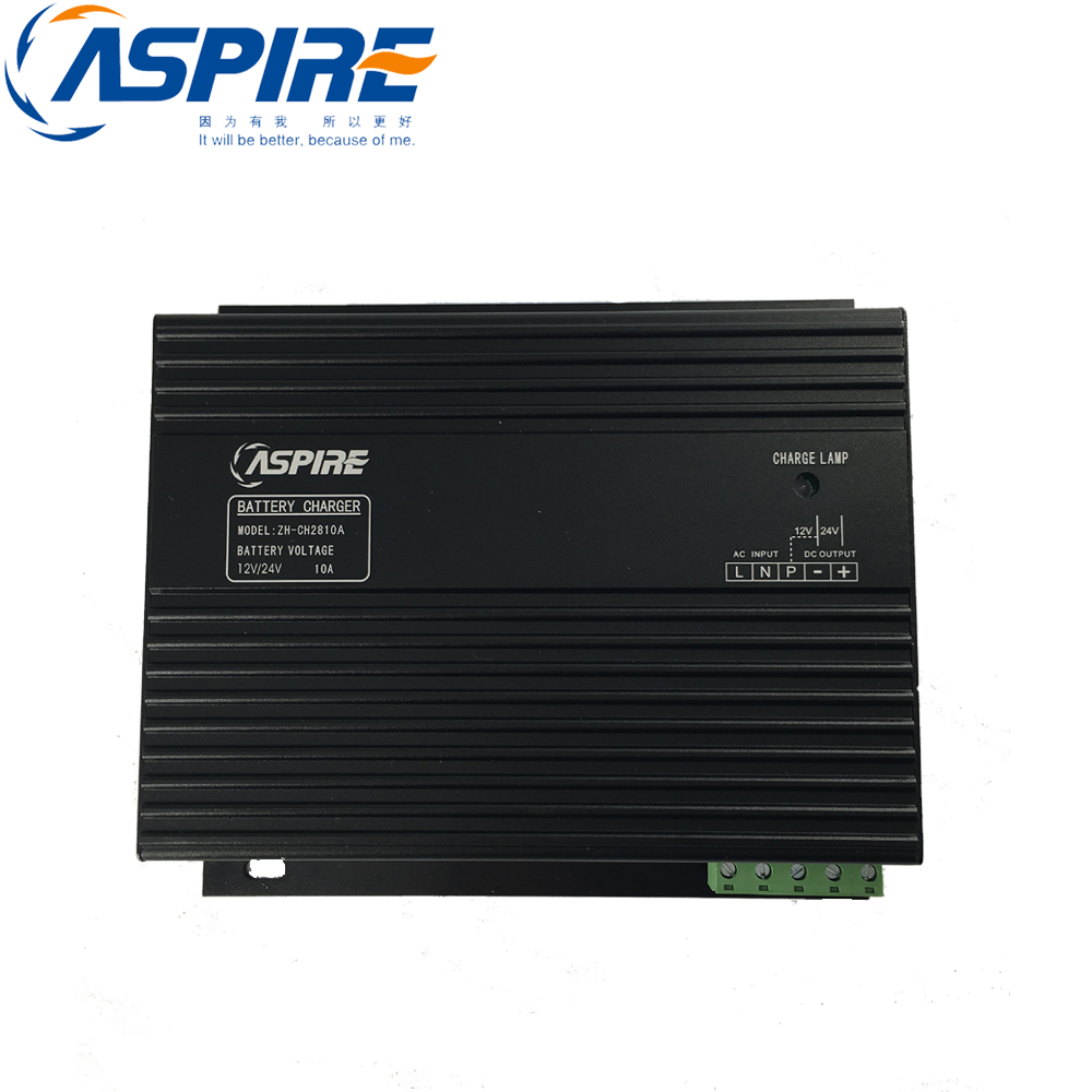 Free Shipping Diesel Generator Intelligent Battery Charger 12V/24V Changable ZH-CH28 10A 10a battery charger for generator set 12v 24v automatic