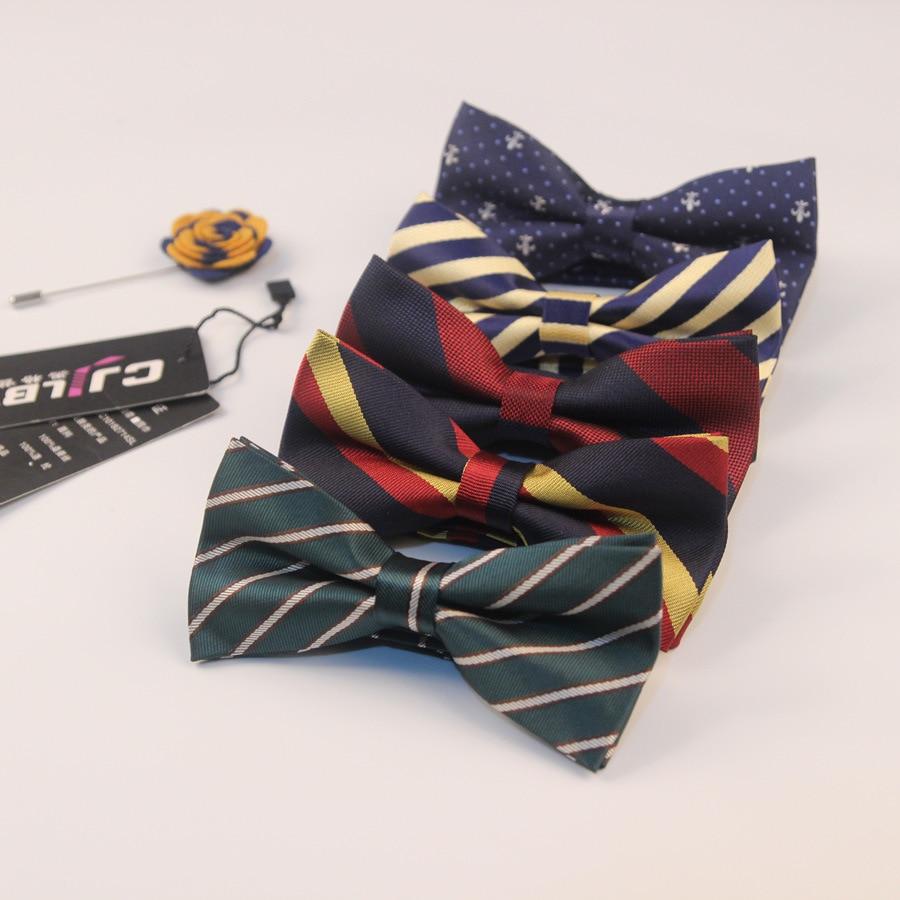 44 colores diseñador de moda de boda corbata de lazo para trajes de negocios pajarita jacquard clásico mariposa rayas 50 unids/lote