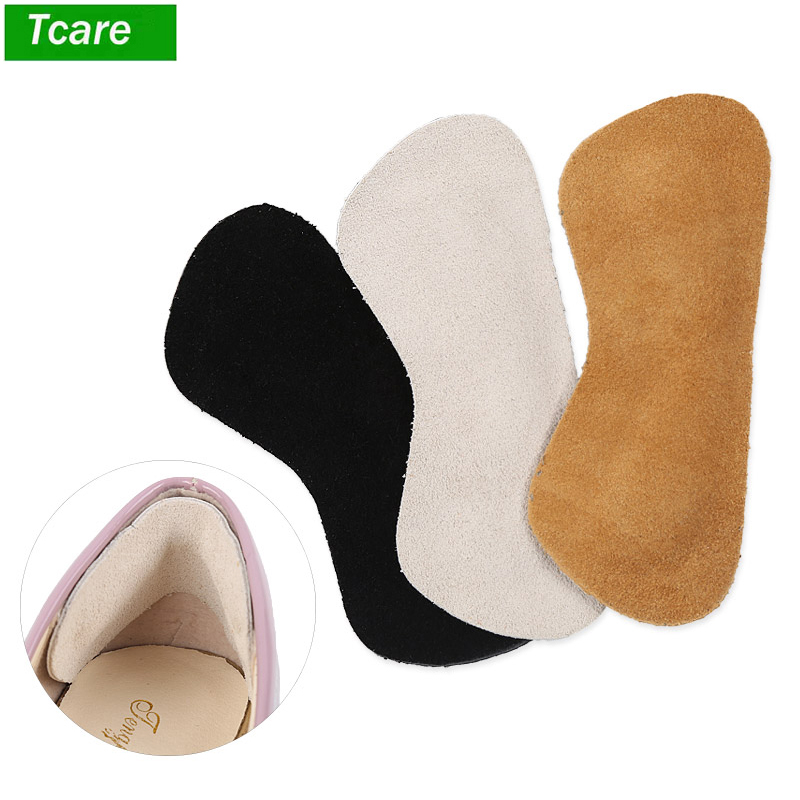1 Paar Fuß Pflege Leder Ferse Griffe Liner Kissen Einsätze Für Lose Schuhe, Schuh Pads Für Schuhe Zu Groß, Verbesserte Schuh Fit Und Com Sparen Sie 50-70%