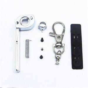 Image 3 - Switchblade Key Case Voor Scher Khan Magicar 5 Ongesneden Blade Fob Case Cover M5 Vouwen Auto Flip Afstandsbediening Met M5 glas