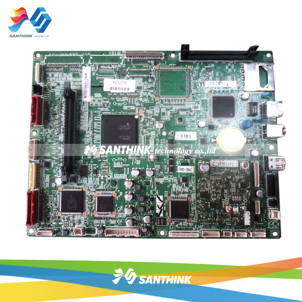 Original Main Board For Canon iR2520 iR2525 iR2535 iR2530 iR 2520 2520i 2525 2525i 2530i 2535i 2545i Formatter Board Mainboard new paper pick up roller for canon ir2525 ir2530 ir2520 ir2002 ir2202 fl3 1352 000 2 pcs per lot