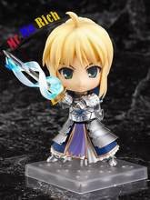 Q-version Nendoroid Fate Stay Night Saber Lily Anime Figure Brinquedos Pvc Action Figure Collectible Model Doll Gift Kids Toys(China)