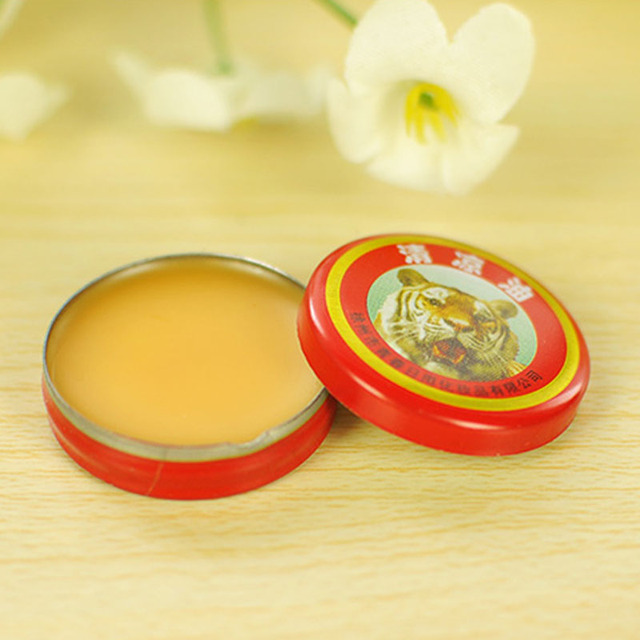 5Pcs Relief Headache Essential Oil Massage to relieve headaches Red Tiger Head Menthol Balm Refreshing free shipping