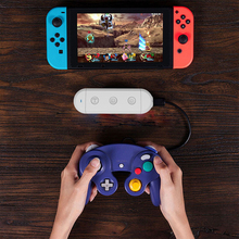 Wireless Bluetooth GC Adapter For Gamecube/Wii/NES/SNES Classic Controller To Nintend Switch Nintend and PC Turbo Capture