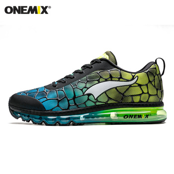 ONEMIX New Style Men Running Shoes Outdoor Leather Jogging Trekking Sneakers Summer Breathable Mesh Athletic Women Sport Shoes 14