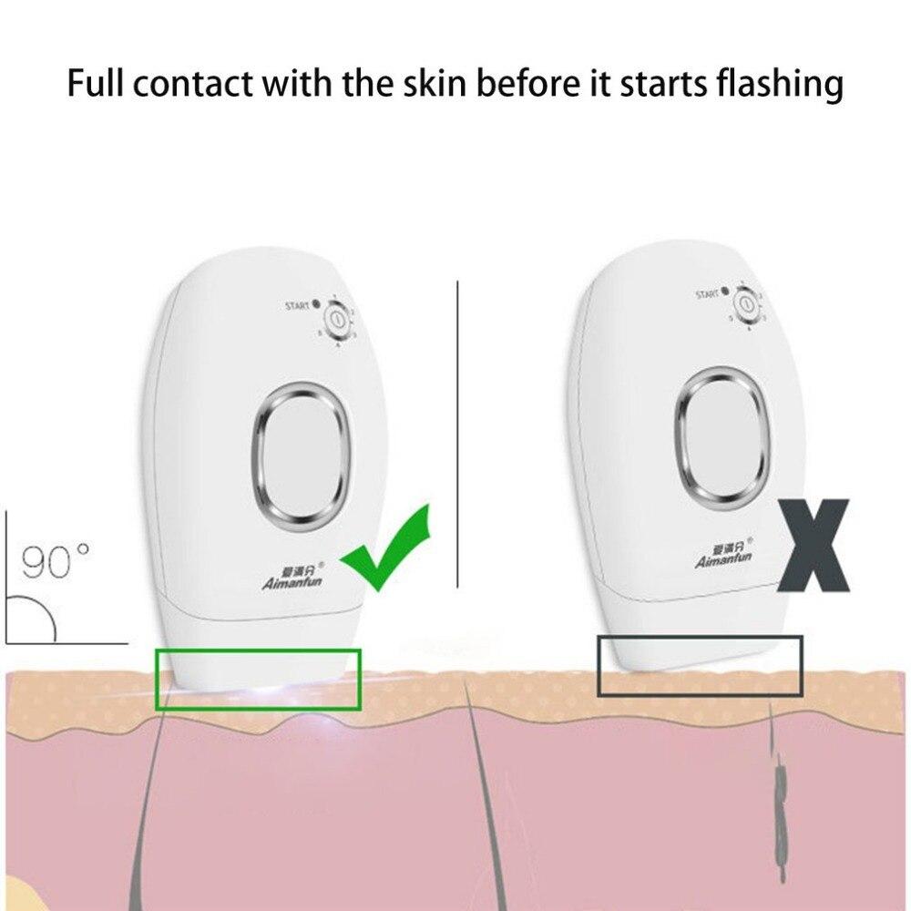 Ménage Laser épilation général photonique congélation indolore Machine d'épilation du corps rasage rasoir pour les femmes offre spéciale - 3
