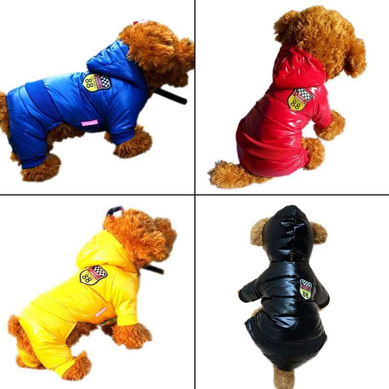 Водонепроницаемый Pet Пальто для собак Зима Большой Размеры собака одежда утолщение собака пуховик для холодной зимы домашних собак Костюмные принадлежности