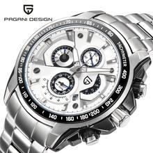 Watches Men Luxury Brand Top Chronograph Quartz Watch Pagani Design Men Sport Wristwatch Military Watch Relogio