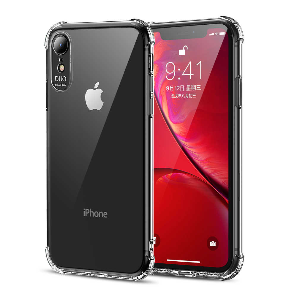 newest 9e2c1 d7bf8 Msvii Mobile Phone Cases for iPhone Xs Max Case Transparent Crystal Airbag  Cover for iPhone XR Case TPU 7 8 Case Full Protection