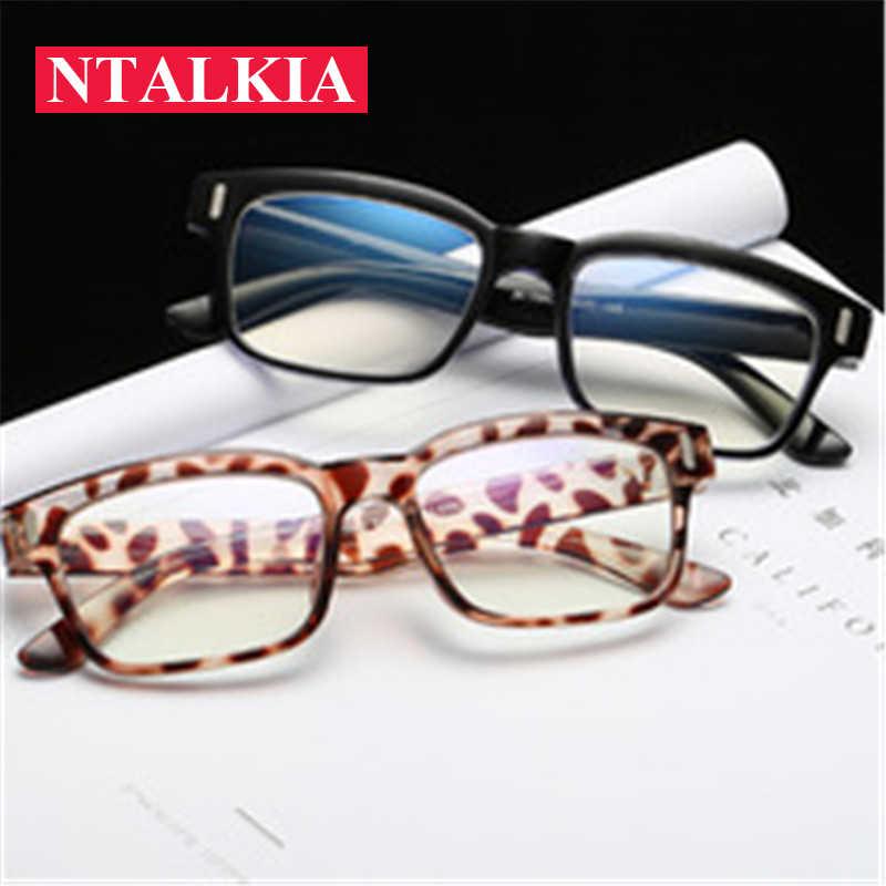 7bc35c84d85 ... Cheap Anti Blue light Glasses Women Optical Computer Glasses Frame Men  Vintage Blue rays Eye protection ...