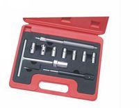 2016 Hot Sale 10Pc Universal Diesel Injector Seat Cleaner Diesel Nozzle Cutter Reamer Engine Injector Repair Tool Garage Tools