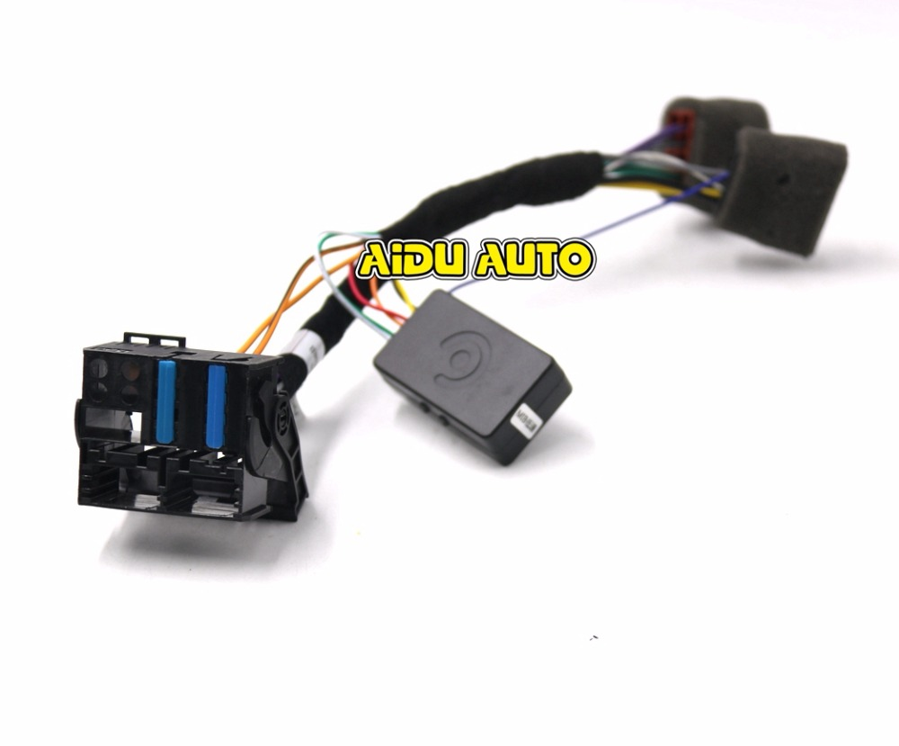 The Circuit Diagram Of Canbus Audi A4 2 Automotivecircuit Rcd330 Plus Plugplay Iso Quadlock Adapter Cable W Decoder Simulator For Vw Golf Vi Jetta 5 6 Mk5 Mk6 Passat B6 Polo In Cables Adapters Sockets