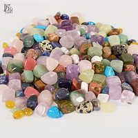 Tumbled Stone Beads and Bulk Assorted Mixed Gemstone Rock Minerals Crystal chip Stone for Chakra Healing Crystals and Gemstones