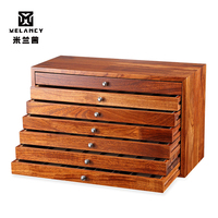 wholesale high quality Luxury solid wooden jewelry watch strap vintage fashion watch gift box