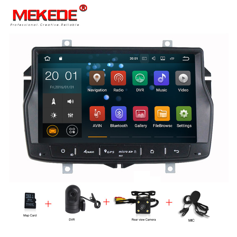 HD BT 8 Android 7.1 Car DVD Player for Lada Vesta Car dvd player gps Navigation Radio BT WIFI Support Navitel Map for Russian