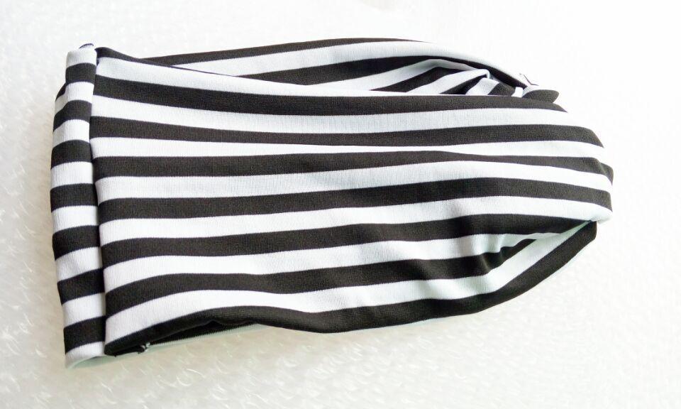 И розничная Модная хлопковая ткань с цветочным узором Тюрбан повязка на голову аксессуары для волос Популярные для женщин и девочек 12 см