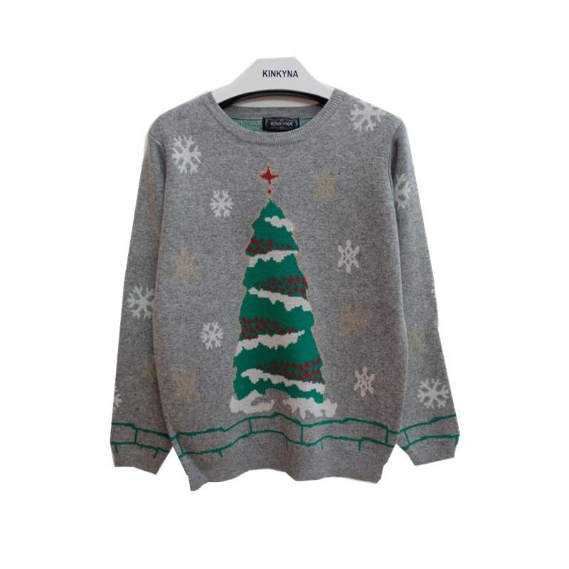 Christmas Tree Sweater Womens: Women Christmas Tree Sweaters New 2016 Winter Ladies Ugly