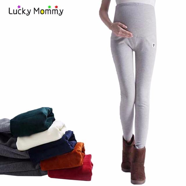 Plus Size Leggings Maternidade para As Mulheres Grávidas Calças de Cintura Alta Da Maternidade para A Gravidez Grávidas Premama Ropa Roupas 15 Estilos