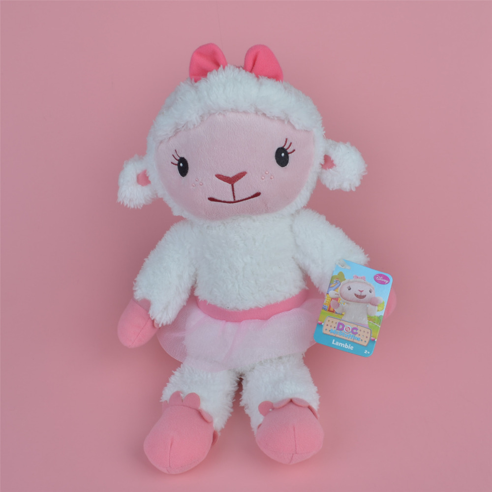 40cm Lambie Sheep Soft Plush Toy, Doc McStuffins Baby Toy Gift Free Shipping