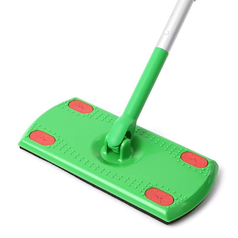clean Floor non woven mini mop Flat Mop Light Rectangle Lightweight Rotating Mop Telescoping Aluminum Handle Dust Mop