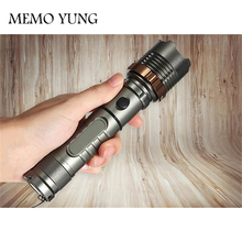 6000 Lumens LED Tactical Flashlight 5 modes Waterproof Torch Lamp  Hunting Flash Light Lantern For Camping