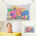 2016 Baby Bath Time Toy Tidy Storage Suction Cup Bag Mesh Bathroom Organiser Net