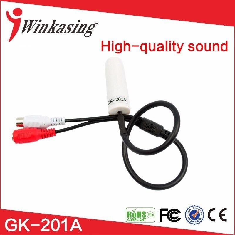 Best quality CCTV microphone sound pickup for Camera pass CE FCC RoHS cambridge брелок cambridge 40011 брелок