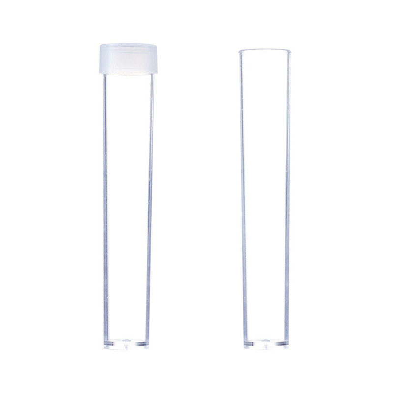 Image 3 - pandahall 100pcs Clear Plastic Tube Bead Containers for storage Bottle Jewelry Packaging Jars about 78mm long, 13mm wide F60-in Jewelry Packaging & Display from Jewelry & Accessories