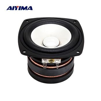 AIYIMA 4 Inch Speaker Full Range Loudspeaker Column 4 Ohm 100 W DIY Sound Music Speaker For Home Theater
