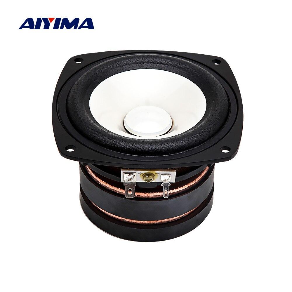 AIYIMA 4 pouces haut-parleur gamme complète haut-parleur colonne 4 ohms 100 W bricolage son musique haut-parleur pour Home cinéma