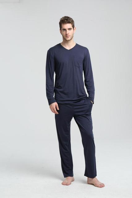 Бесплатная доставка. зимняя брендовая подарок мужчины сна Пижама, спальный Домашняя одежда, Модальные Большие размеры Sleepingwear, Homme качество. продаж