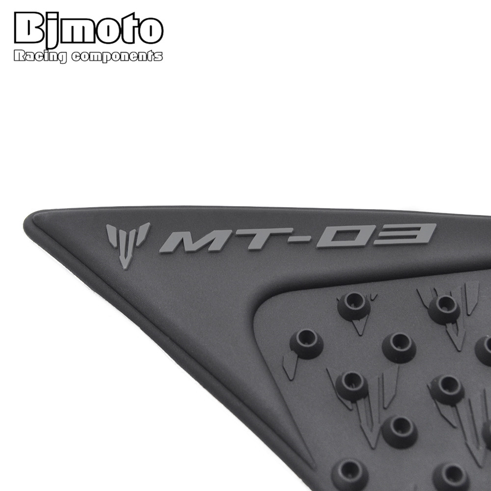 Official Website Bjmoto For Yamaha Mt03 Mt-03 2015-2018 Motorcycle Tank Traction Pad Side Gas Knee Grip Covers & Ornamental Mouldings Frames & Fittings