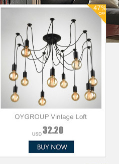 HTB1MV mmfDH8KJjy1Xcq6ApdXXaf Oygroup Vintage Ceiling Lights For Home Lighting Luminaire Multiple Rod Wrought Iron Ceiling Lamp E27 Bulb Living Room#CL06/CL08