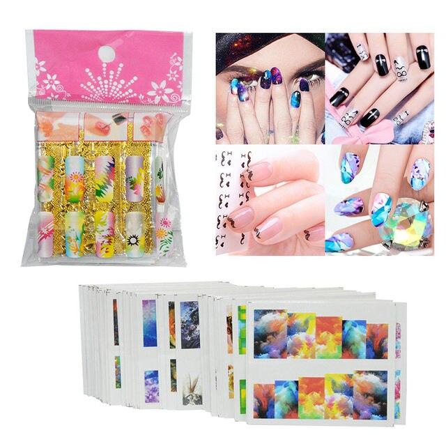 Online Shop Nail Art Set Manicure Tools 36w Uv Lamp 2 Colors Gel
