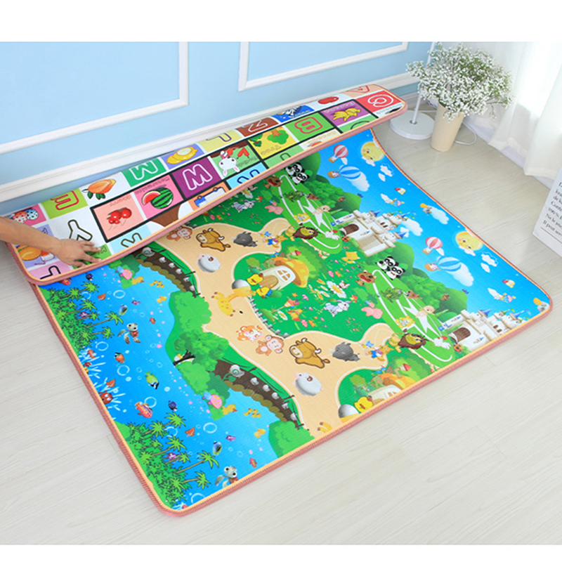 1cm Thick Baby Play Mat Developing Rug Puzzle Mat Mats Kid