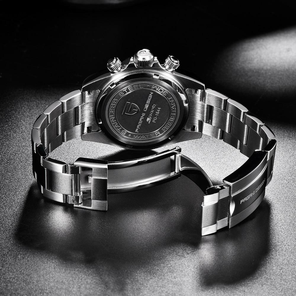 PAGANI DESIGN 2019 marque hommes sport montre à Quartz de luxe hommes étanche montre bracelet nouvelle mode montre décontractée pour homme relogio masculino - 6