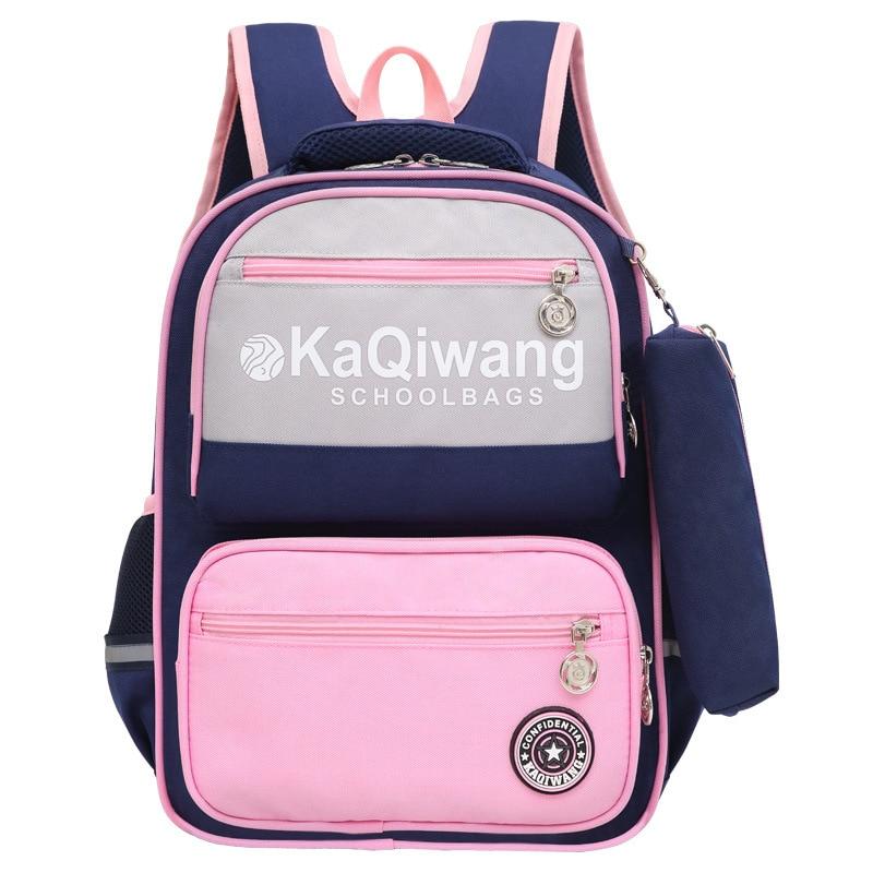 Children School Bags Backpacks Kids Orthopedic Backpacks Waterproof Schoolbags Boys&Girls Primary School Book Bags Sac Enfant