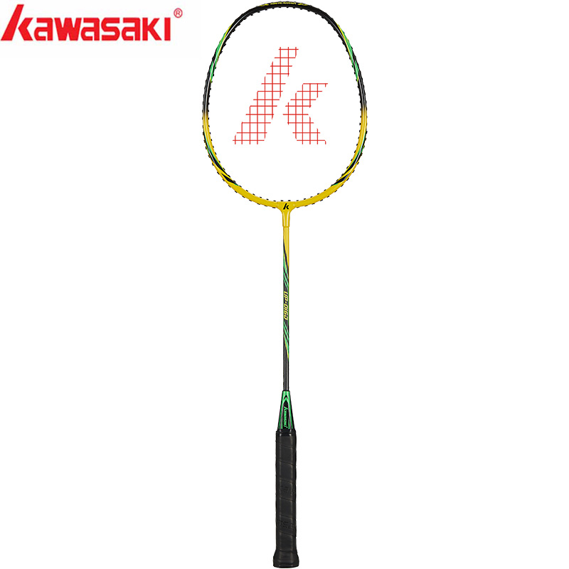 Kawasaki Badminton Racket 1U Aluminum Alloy Frame Badminton Racquet With String UP-0160 With Free Gift Shuttlecock