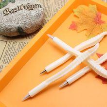 1pcs/lot Bone Ballpoint Pen Black Refill School Supplies Office Supplies Home Decoration Kids Gift Reward 1pcs lot svi4004
