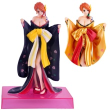 One Piece Action Figure Nami Kimono PVC 21CM Sexy Gold Model Toy Figurine Doll