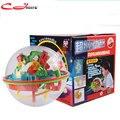 O envio gratuito de 100 níveis de Mágico Intelecto Bola Labirinto 3D estéreo Clássico infantil aprendizagem & brinquedos educativos Magic Puzzle