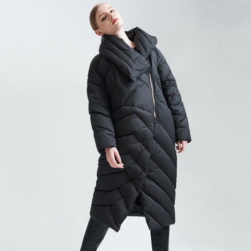 Big 2018 Taille De Gamme Haut Outwear Plus Vers Zs380 Américain Le Femme dark Femmes Style Et Blue Européen TurnCol black Long Manteau Beige La Bas Veste Hiver bygf76